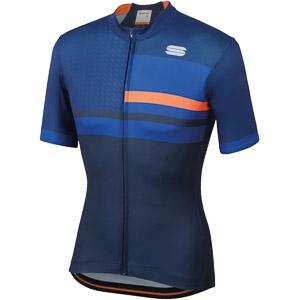 Sportful Team 2.0 Drift Dres tmavomodrý/oranžový
