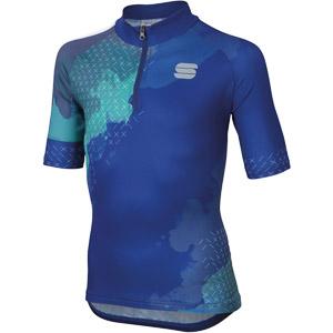 Sportful Dolomia Detský dres  modrý