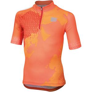 Sportful Dolomia Detský dres  oranžový