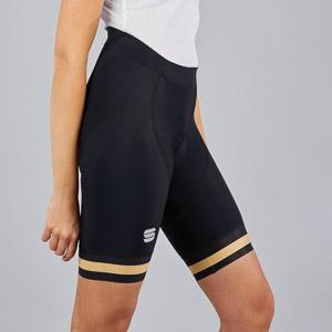 Sportful BF Classic dámske kraťasy čierne/zlaté