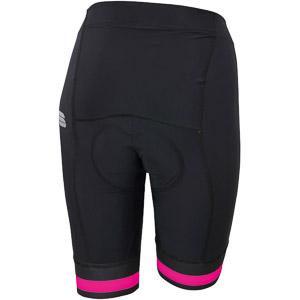 Sportful BF Classic Dámske kraťasy čierne/ružové