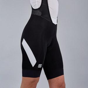 Sportful Neo Dámske kraťasy s trakmi  čierne/biele