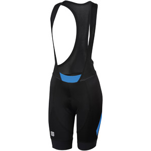 Sportful Neo Dámske kraťasy s trakmi  čierne/modré