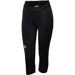 Sportful Neo Dámske 3/4 nohavice  čierne