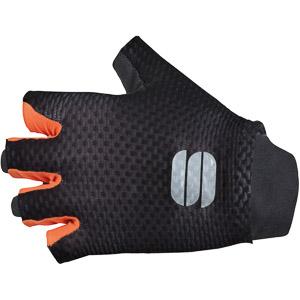 Sportful Bodyfit Pro Light Rukavice čierne/oranžové