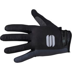 Sportful Bodyfit Dlhoprsté MTB Rukavice čierne