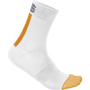 Sportful Bodyfit Pro 12 Dámske ponožky biele/zlaté