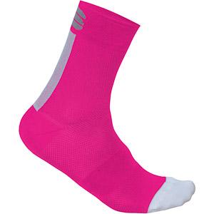 Sportful Bodyfit Pro 12 Dámske ponožky  ružové/biele