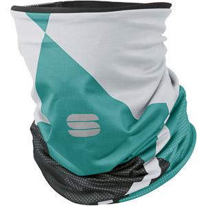 Sportful buffka biela/tmavosivá/zelená