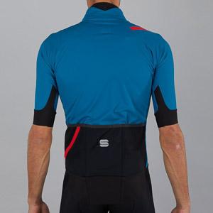 Sportful Fiandre Pro bunda s krátkym rukávom tmavomodrá