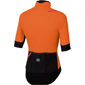 Sportful Fiandre Pro bunda s krátkym rukávom oranžová