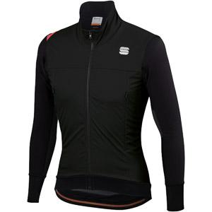 Sportful Fiandre Strato Wind bunda čierna