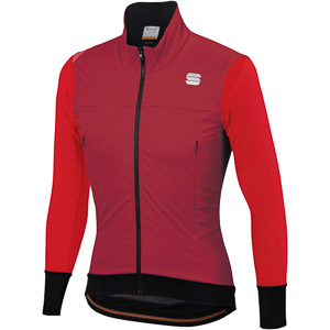Sportful Fiandre Strato Wind bunda červená