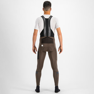 Sportful SUPERGIARA nohavice s trakmi hnedé