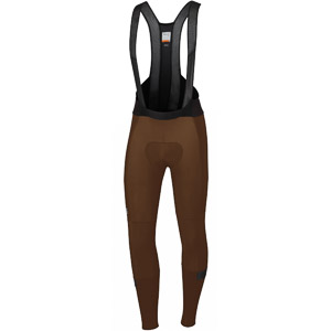 Sportful Supergiara nohavice s trakmi čokoládové