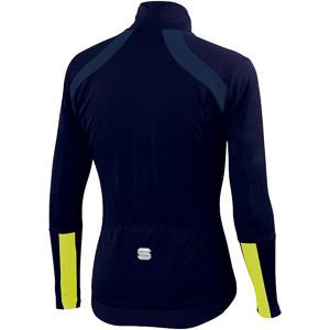 Sportful GTS cyklo bunda modrá/žltá fluo