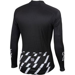 Sportful Tec-Trix dres s dlým rukávom čierny/biely