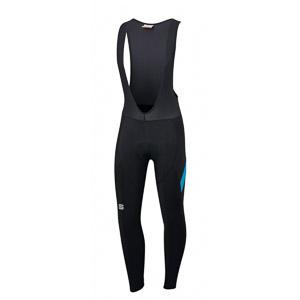Sportful Neo nohavice s trakmi čierne/svetlomodré