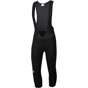 Sportful Neo 3/4 nohavice s trakmi čierne
