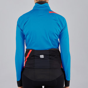 Sportful Fiandre Pro dámska bunda svetlomodrá