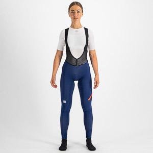Sportful Fiandre NoRain dámske nohavice s trakmi modré
