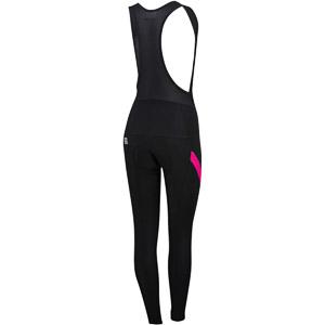 Sportful Neo dámske nohavice s trakmi čierne/ružové