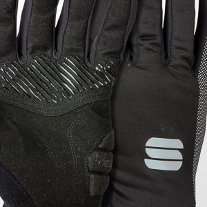 Sportful Giara Thermal rukavice čierne