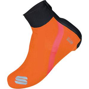 Sportful Fiandre návleky na tretry čierne/oranžové