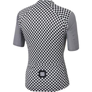 Sportful Checkmate dres biely/čierny