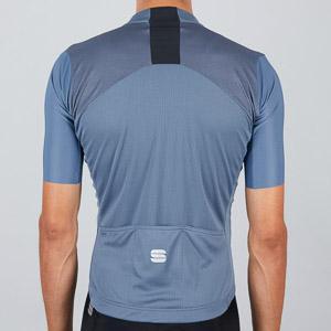 Sportful Strike dres s krátkym rukávom tmavomodrý/čierny