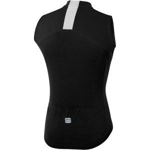 Sportful Strike dres bez rukávov čierny