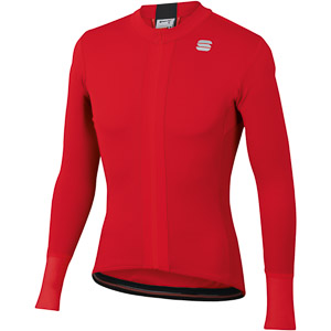 Sportful Strike dres s dlhým rukávom červený
