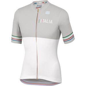 Sportful Tricolore dres biely