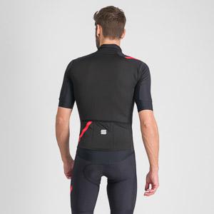Sportful Fiandre Light NoRain bunda s kr. rukávom čierna
