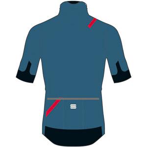 Sportful Fiandre Light NoRain bunda s kr. rukávom  tmavomodrá