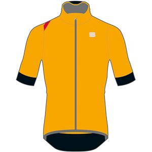 Sportful Fiandre Light NoRain bunda s kr. rukávom žltá