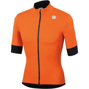 Sportful Fiandre Light NoRain bunda s kr. rukávom oranžová