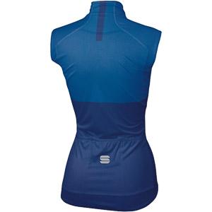 Sportful Bodyfit Pro dámska WindStopper vesta modrá