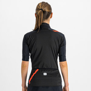 Sportful Fiandre Light NoRain dámska bunda s kr. rukávom čierna