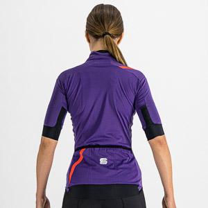 Sportful Fiandre Light NoRain dámska bunda kr.rukáv fialová