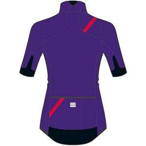 Sportful Fiandre Light NoRain dámska bunda s kr. rukávom fialová