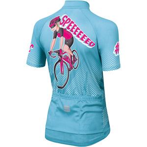 Sportful Super GIRL dievčenský dres svetlo modrý