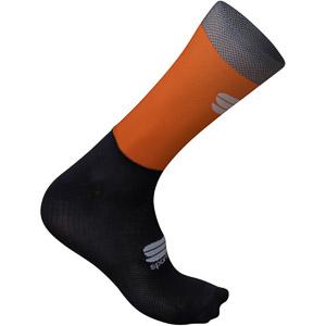 Sportful Supergiara ponožky oranžové/čierne