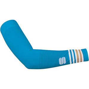 Sportful Thermodrytex dámske návleky na ruky NEW modré/zlaté