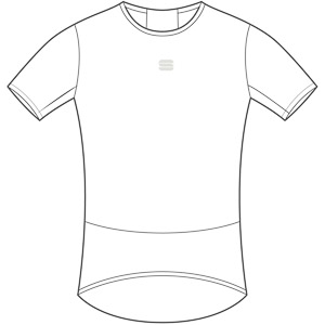 Sportful Pro tričko tričko biele