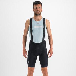 Sportful Pro termo tričko bez rukávov svetlomodré/biele