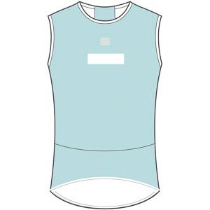 Sportful Pro Baselayer tričko bez rukávov  svetlomodré/biele