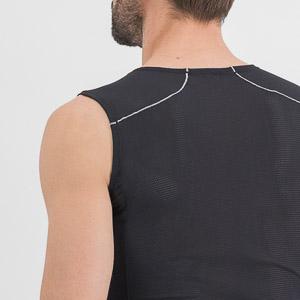 Sportful Thermodynamic Lite tričko bez rukávov čierne
