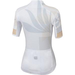 Sportful Oasis dámsky dres biely/strieborný/zlatý