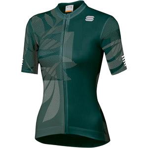 Sportful Oasis dámsky dres morský mach/zelený/biely